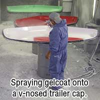 Gelcoating Caps